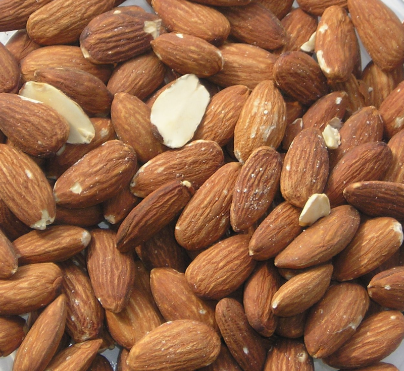 Almonds - a god-send when you opt for low-carb baking.