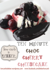 Watermark - 10 minute choc-cherry cheesecake