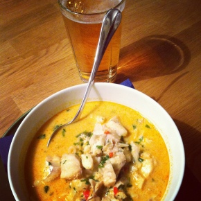 Thai Prawn and Chicken Soup