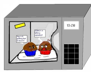 Zippy microwave chocolatecake