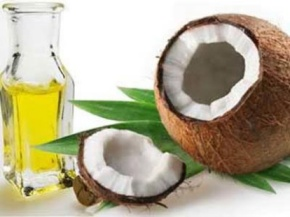 Coconut oil can reduce mouth infections