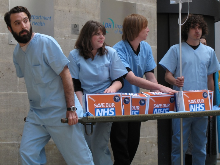 NHS Hand-in: Department of Health