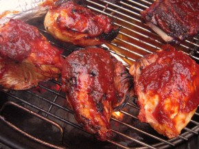 Jovina cooks Italian: Herb marinated grilled chicken