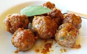 Jovina Cooks Italian: Sage meatballs with Marsala winesauce