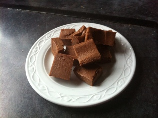 Low-carb chocolate fudge