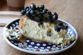 Hilda's Fit to Serve: Blueberry cheesecake