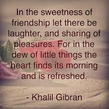 friendship gibran