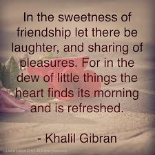 friendship gibran