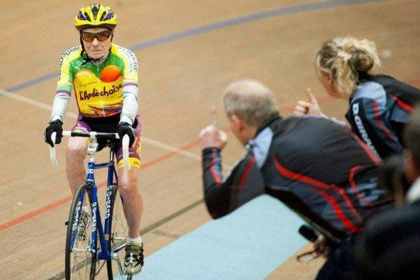 cyclist robert marchand