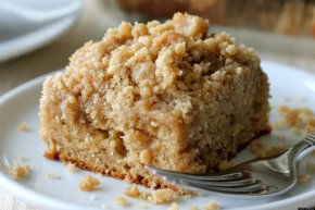 Fit to serve: Cinnamon coffee cake