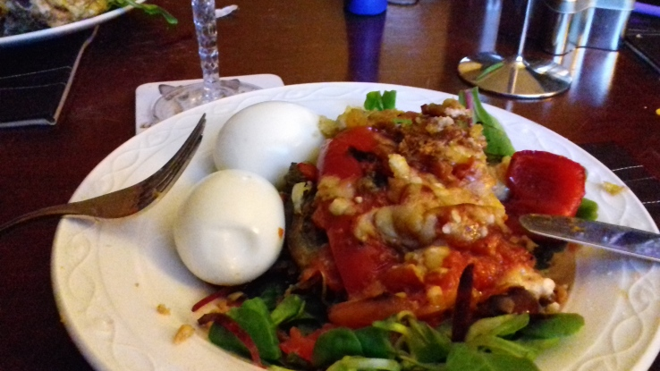 The Diabetes Diet picture of an aubergine and cheese dish