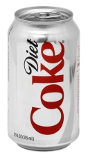 can of diet coke on The Diabetes Diet