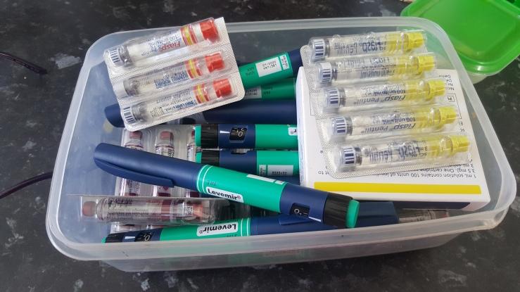 insuline supplies on the Diabetes Diet website